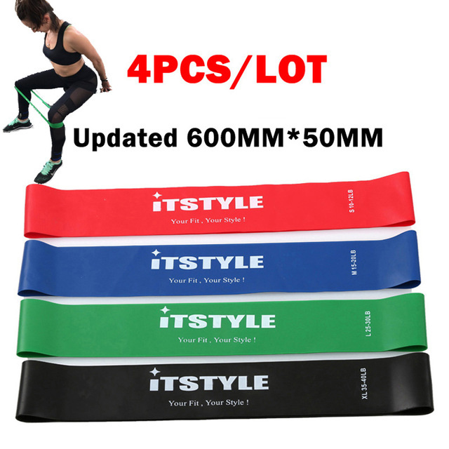 Resistance Bands Set 10 Levels Available Latex Gym Strength Training  Fitness Equipment Expander Yoga Rubber band 1