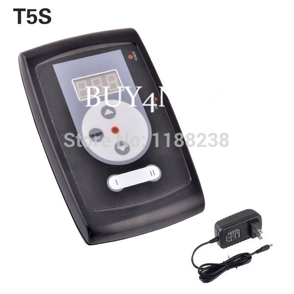 NEW Design Tattoo & Permanent Makeup Machine Power Supply digital LCD with plug free shipping