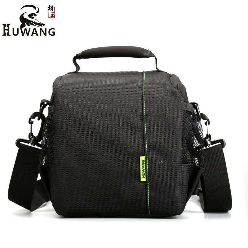 Huwang Camera Bag Waterproof Camera Shoulder Bag Padded Shockproof Camera Case Bag