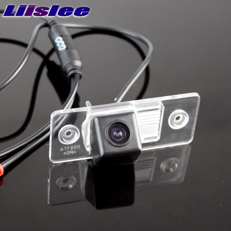 LiisLee Car CCD Night View Vsion Rear Camera For Audi A6 C5 4B 1997~2004 back up Reverse CAM 2pcs car styling no error xenon white led tail license plate light for audi a6 c5 4b sedan 1997 2004 auto accessory parts