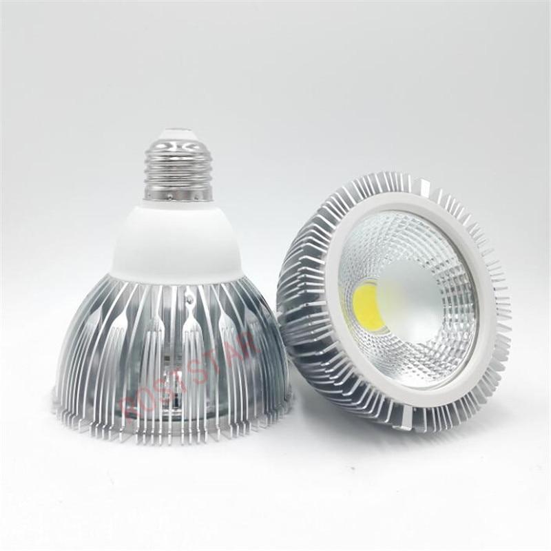Cob Spotlight Par30 15w Par38 20w E27 50000h Lifespan Warm White/White 85 265v  Ce 120degree Warranty 2 Years Led Cob