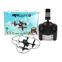 Dwi Dowellin MT9917 Drones Quadcopter RC con La Cámara FPV Drone Teléfono Del WIFI de Control Dron 2.4G 4CH 6-Axis RC En Tiempo Real helicóptero