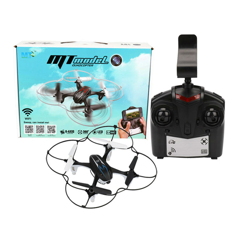 Dwi Dowellin MT9917 Quadcopter RC Drones with Camera FPV Drone WIFI Phone Control Dron 2.4G 4CH 6-Axis Real Time RC Helicopter