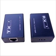 30m HDMI Extender CAT5e/6 Support 1080p 30m Extension Like HDMI Splitter Transmitter Receiver for CCTV DVR NVR HD30