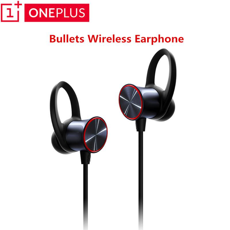 Original Oneplus Bullets Wireless Earphone aptX Neckband For Oneplus6 Free Your Music Mic Control From Wire
