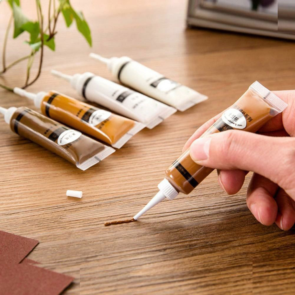 2Pcs Furniture Scratch Fast Remover Solid Wood Refinishing Paste Repair Paint Pen JDH99