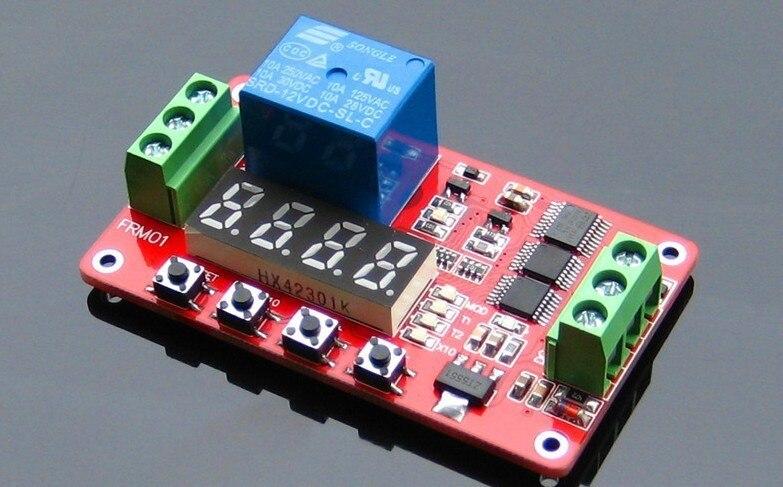 FRM01 משולבת ממסר מודול/Loop מתג דיליי/טיימר/נעילה עצמית/12 V אופציונלי