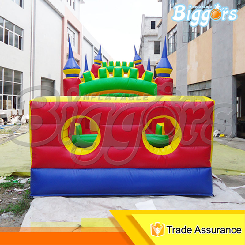 Commercial Use Giant Inflatable Adventure Obstacle Cource Inflatable Bouncy Castle chic