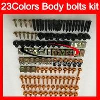 Fairing bolts full screw kit For Aprilia RS4 125 RS125 99 00 01 02 03 05 RS 125 1999 2000 2001 2005 Windscreen bolt screws Nuts
