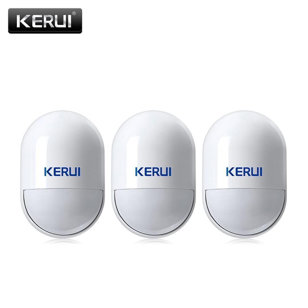 bilder für 3 teile/5 teile KERUI Drahtlose PIR Detektor Infrarot-detektor für Home Security GSM Alarmanlagen 433 MHz PIR Bewegungssensor innen