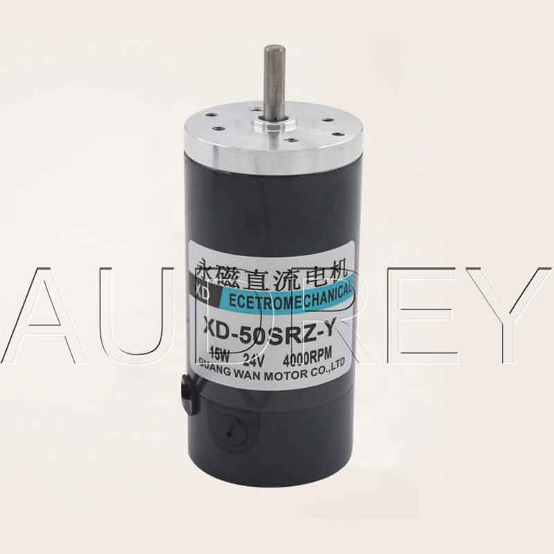 Brushed permanent magnet DC high speed motor 15W miniature Positive Reversal rotation Speed regulating motor 12V24V js zyt 19 permanent magnet dc motor speed 1800 rpm high speed miniature single phase dc motor dc220v 200w