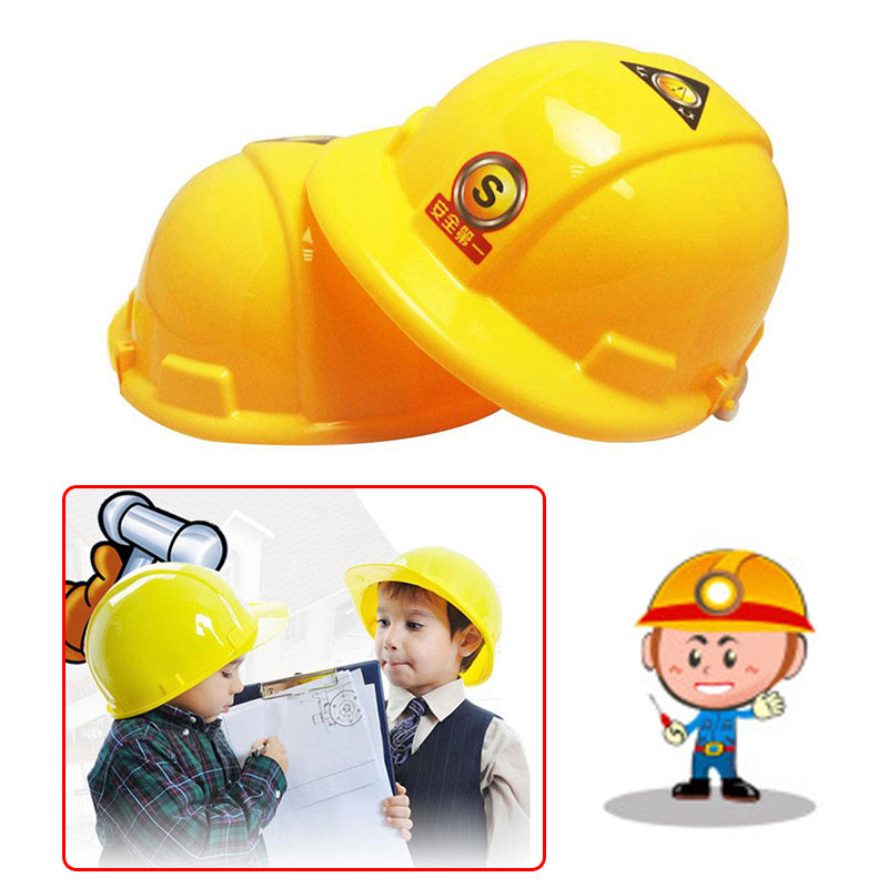 Kids Children Simulation Helmet Pretend Role Playing Construction Creative