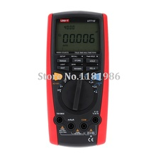 UNI-T UT71E Intelligent LCD True RMS Digital Multimeter with USB Interface Frequency Tester Meter Power 2500W USB Data Logging 1set bside aer01 professional digital earth resistance tester meter 100 groups data logging 0ohm to 4k ohms with backlight