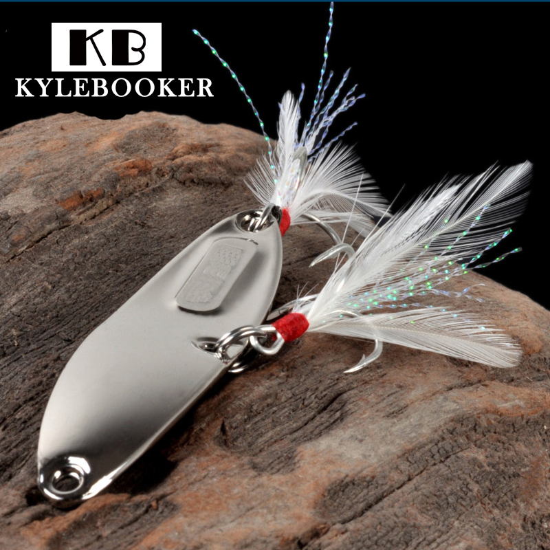 Hyperbola Sequins Lure Spoon Metal spinner spoon Artificial Bait hard Fake baits feather hooks Culter perch Fishing lure 10pcs box metal spoon fishing lure hooks spinner baits sequins hard artificial jigging lure kits isca fishing tackle accessories