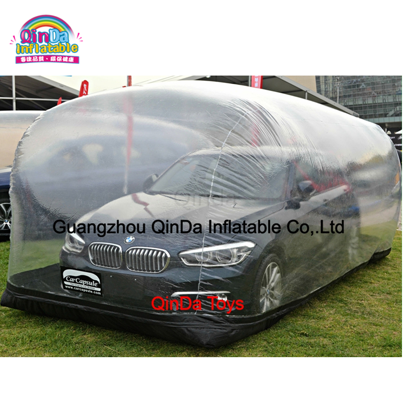Cheap Price PVC Inflatable Hail Proof Car Cover Inflatable Bubble Car Capsule For Sale