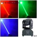 10 шт./лот  светодиодный луч  движущаяся головная лампа RGBW 10 Вт  идеально подходит для мобильных DJ вечеринок
