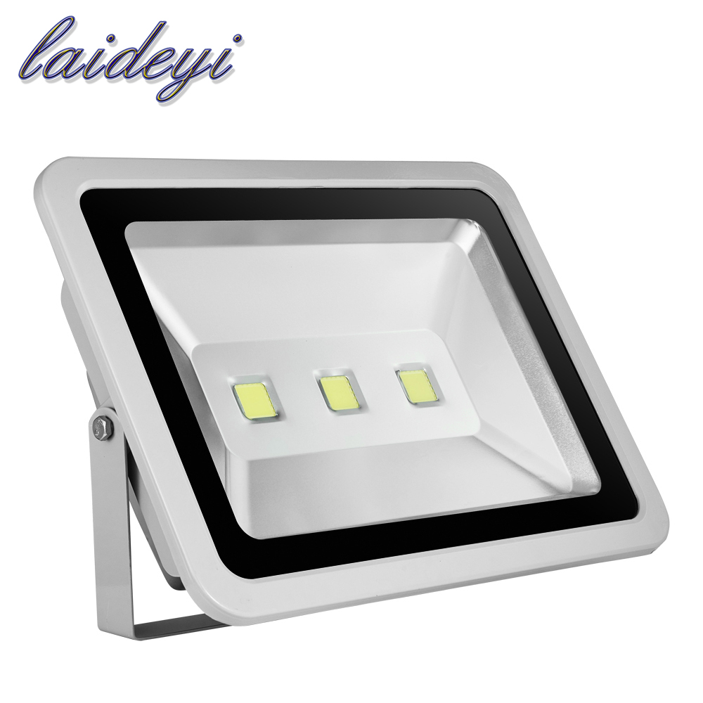 2PCS 300W COB LED Flood Light High Power AC85-265V 21000lms LED Spotlight IP65 Waterproof Cold White LED Floodlights Outdoor 90w led driver dc40v 2 7a high power led driver for flood light street light ip65 constant current drive power supply