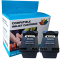Черный заправленный картридж для принтера hp 302 XL F6U68AE для HP Deskjet 3630 3631 3632 3633 3634 3636 3637
