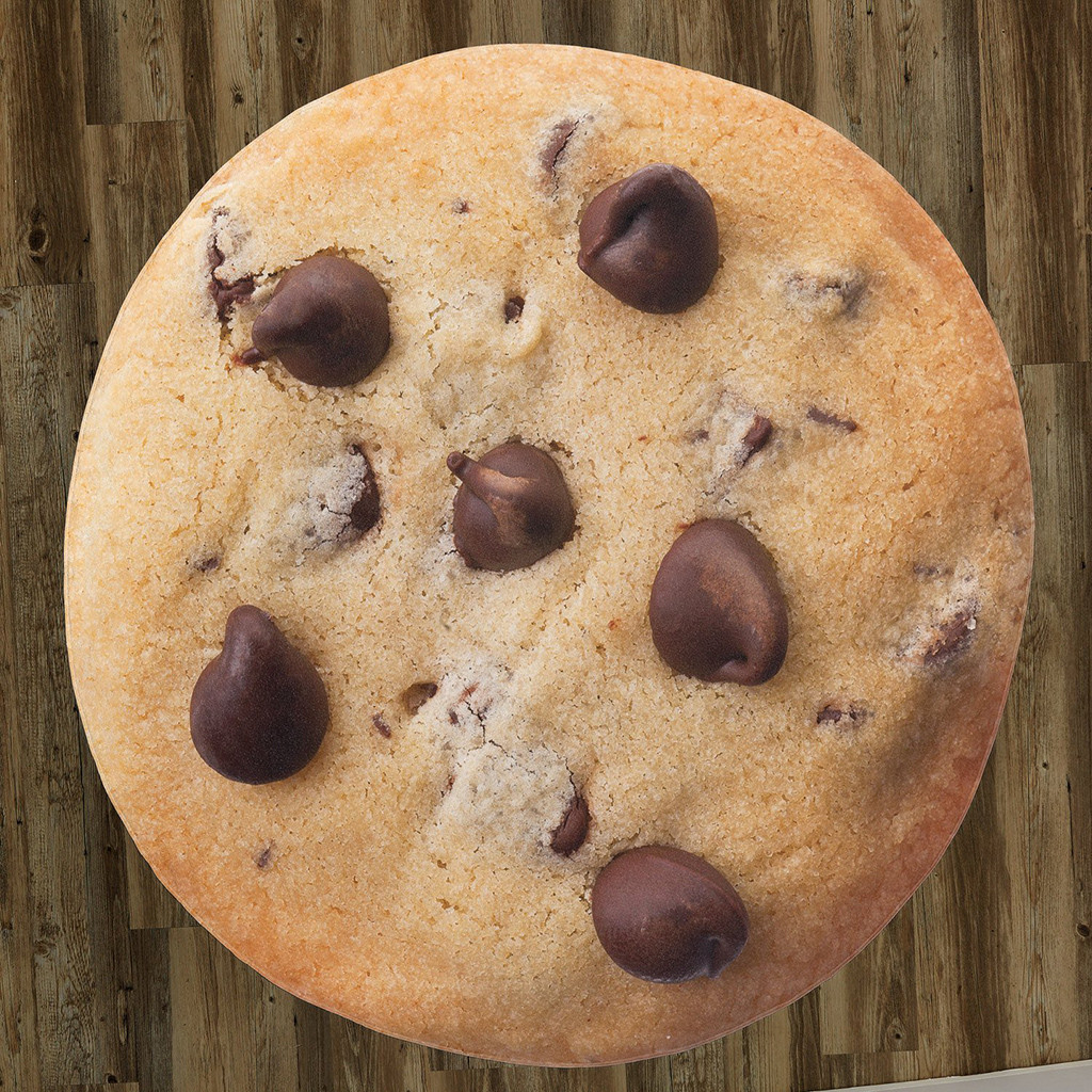 122/152/182cm Comfort Food Creations Biscuit chocolate Novelty Blanket Perfectly Round Tortilla Throw  High Quality tapestry