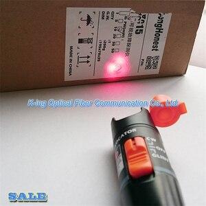 Image 2 - King Honest VFL detector de fallas visuales, fibra óptica de 10 km, pluma con salida pw: >10mW, localizador visual de fallos