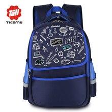 2017 tigernu marca niños lindos de los niños bolsas escuela de dibujos animados mochila mochilas para niñas niños schoolbag bookbag escuela femenina