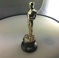 Высокое качество Oscar приз Кубок премии цинковый сплав реплики музыки и телевизионных фильм сувениры 34 сантиметр 2,5 килограмм подарочная кор