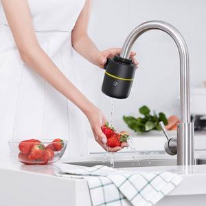 Image 4 - Youpin Yimu שחור אינטליגנטי ניטור ברז מים מטהר מסנן מטבח אמבטיה מסנני בית מטבח