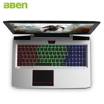 "BBEN G16 15.6"" Windows 10 Intel I7-7700HQ CPU NVIDIA GTX1060 GDDR5 6GRam FHD1920*1080 8G DDR4 Ram HDD+SSD Option Backlit Keybord"