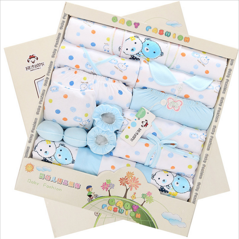 21 pieces newborn gift baby clothing set kids clothes 100 ...