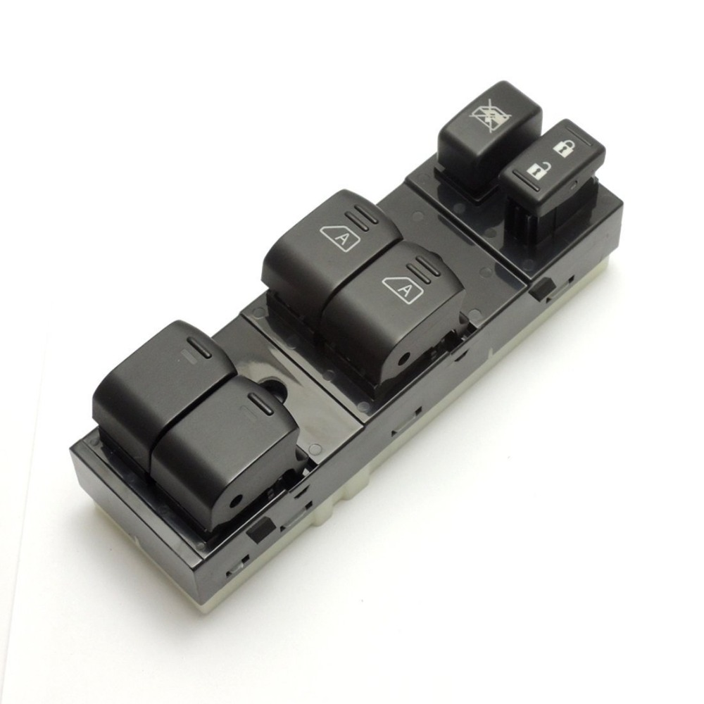 1 PC New Electric Power Window Master Switch For 2005-2007 Nissan Pathfinder Front SA312 T0.11 2pcs for 2005 2013 nissan pathfinder rear window lift supports struts 6607 sg325028