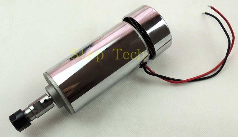 CNC 400W DC12-48V Spindle motor, 48V-12000r/min, 0.4KW spindle motor for CNC milling machine+ 1pcs ER11 Collect free shipping 500w er11 collet 52mm diameter dc motor 0 100v cnc carving milling air cold spindle motor for pcb milling machine