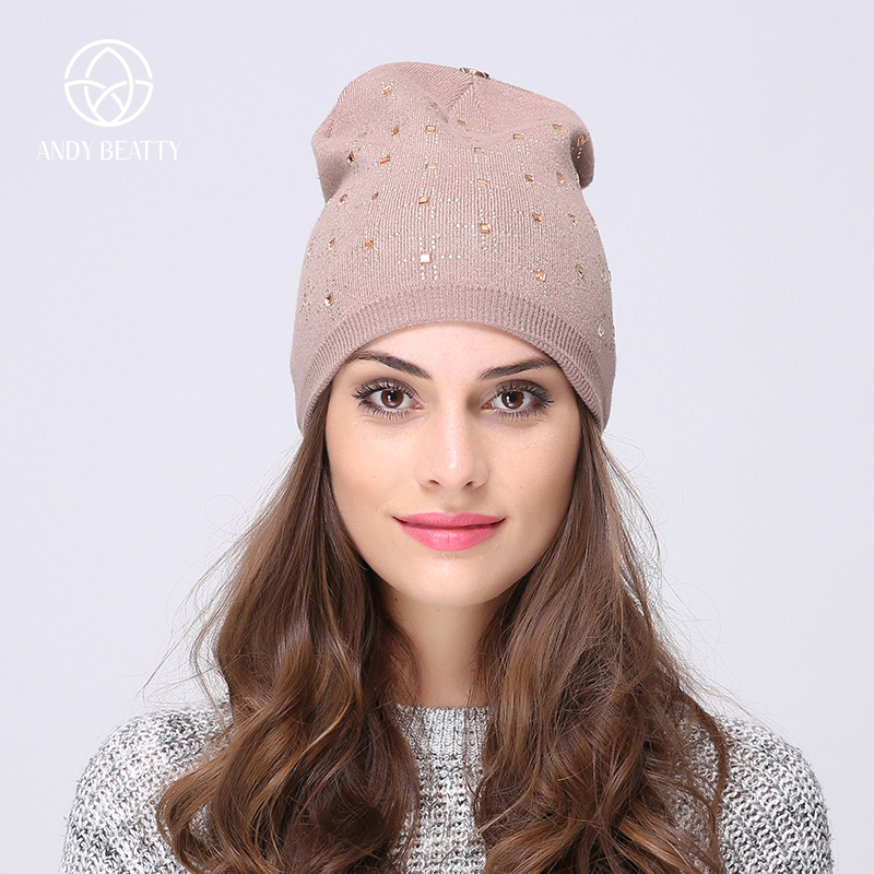 Andybeatty winter hats for woman hat gril beanies knitted caps gorro skullies woman wool warm casual cap touca feminina bone hot sale winter cap women knitted wool beanie caps men bone skullies women warm beanies hats unisex casual hat gorro feminino