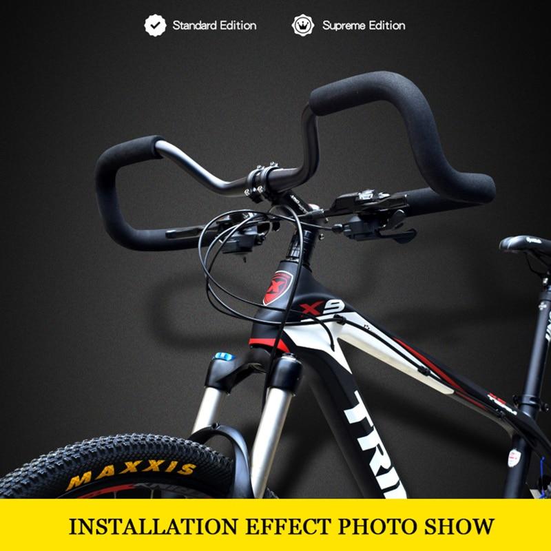 Silver Alloy 25.4 Fixie Single Speed Road Bike Bicycle Riser Handlebar W 620mm