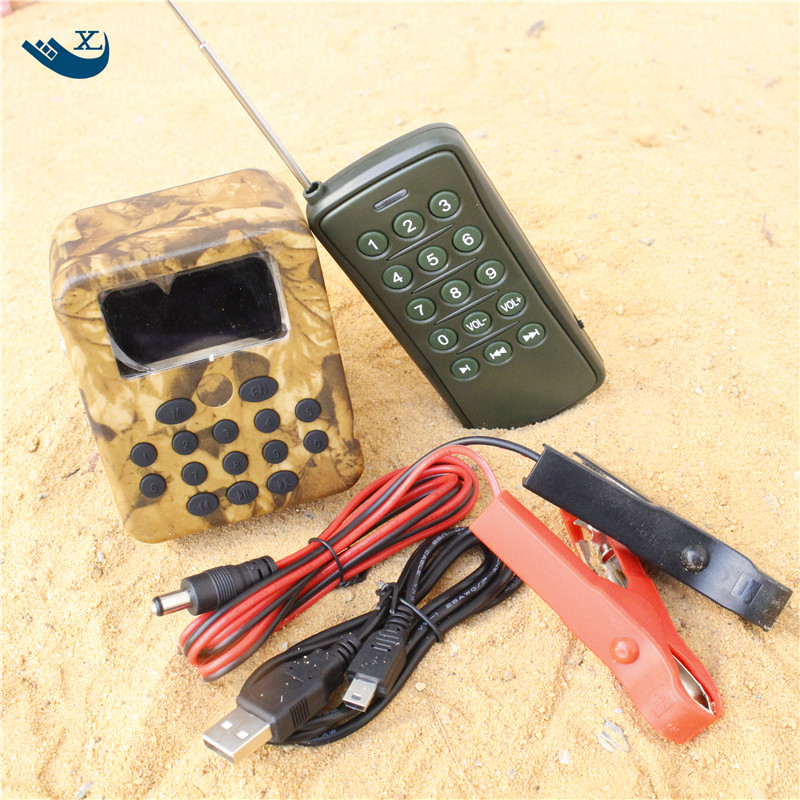 Outdoor Hunting Decoy Speaker Sand Prevention Radiator Hunting  Mp3 Sound Player  Hunting Mp3 Bird Caller With Timer цена и фото