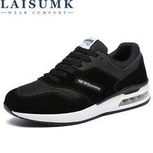 LAISUMK Brand 2019 New Solid Color High Top Shoes Men Casual Lace-Up Light Shoes Chaussure Homme Male Fashion Design Sneaker цена в Москве и Питере