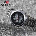 Nueva Marca de lujo SOXY hombres llevó el reloj de cuarzo de moda de alta calidad masculion relojios venta caliente mutifunction reloj deportivo