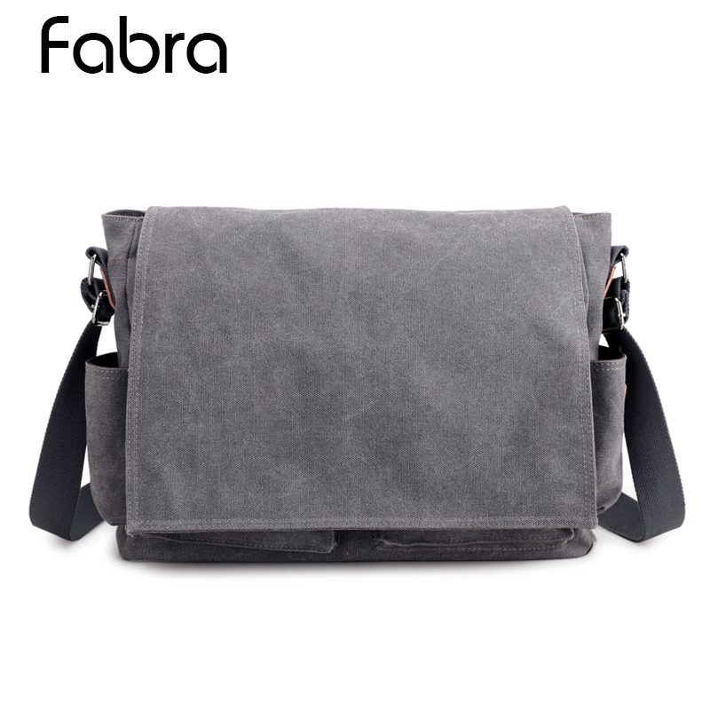 Men Canvas Messenger Bags Designer Brand Vintage Business Crossbody Bags Laptop Bags Satchel Shoulder Men's Briefcase