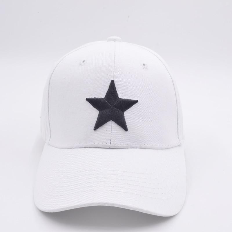 2017new fashion embroidery five-pointed star baseball cap women cap trucker cap Hip-Hop Hat Leisure hat Hip Hop Hat Leisure hat