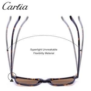 Image 5 - Carfia男性の偏光サングラス眼鏡ファッションレトロサングラススブランドデザイナードライビング 100% uv保護