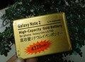 2 шт./лот Золотой 4320 мАч Бизнес Аккумулятор Для Galaxy Note II 2 GT-N7100 Аккумулятор Batterij Bateria Akku аккумулятор