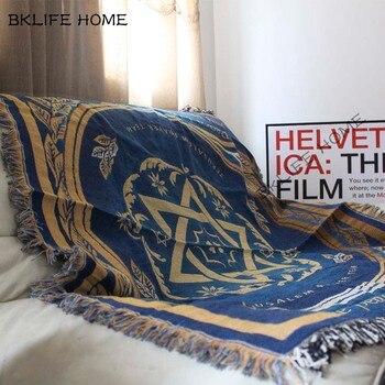 стиральная машина | Многофункциональный хлопковый ковер с рисунком флага Израиля, одеяло для дивана, гостиной, спальни, мягкий ковер, покрывало, скатерть, гобел...