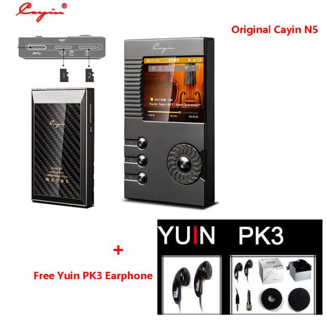 Cayin chispa n5 dsd hifi reproductor de música portátil reproductor de música sin pérdidas flac apoyo tarjeta de 128 gb tf (envío Original YUIN PK3 Auricular)
