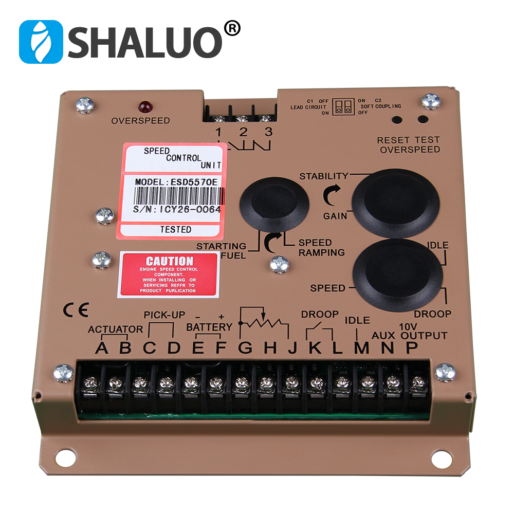 Electronic Speed Governor ESD5570E Speed Controller 5570E Electronic Speed Governor ESD5570E Speed Controller 5570E