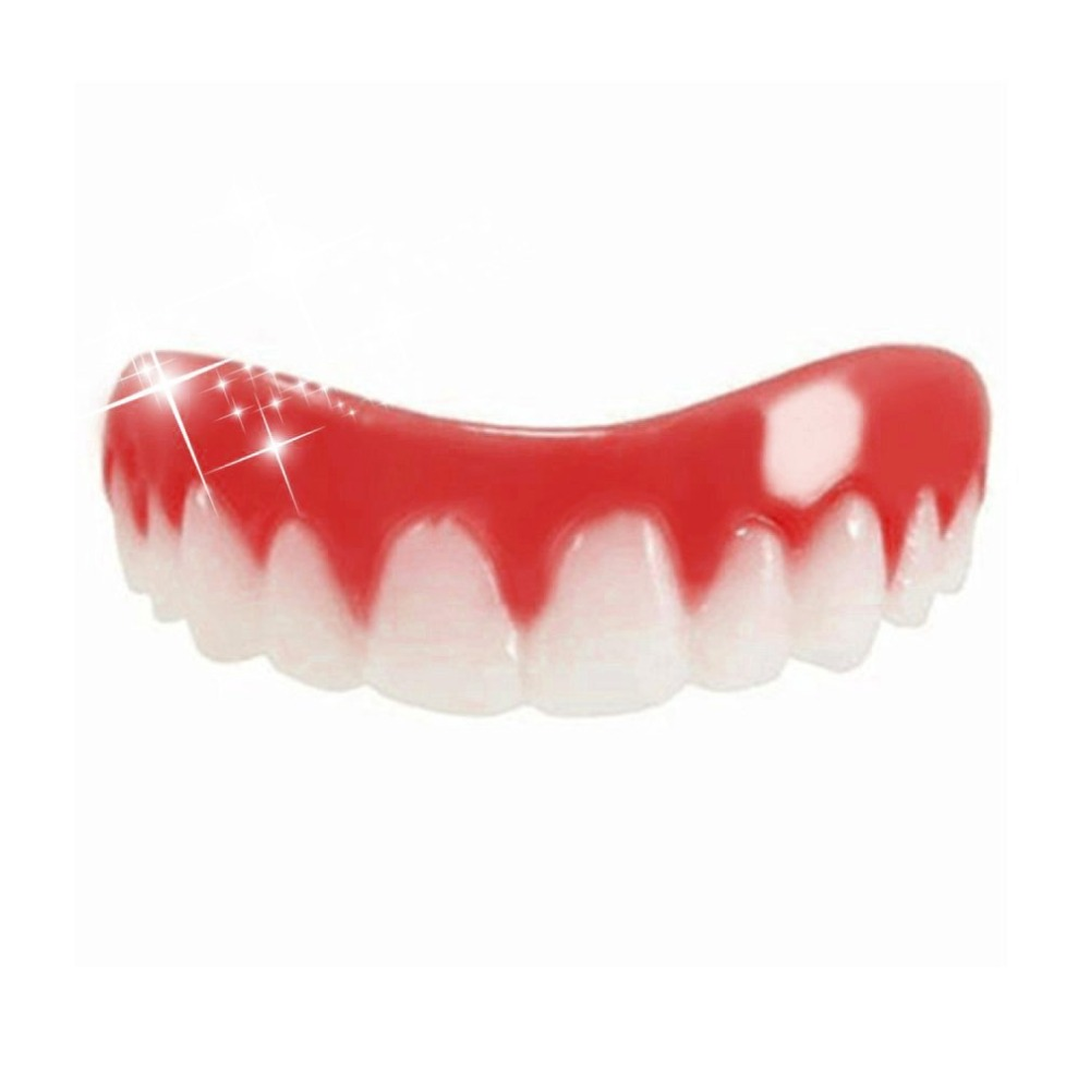 YKS Comfortable Natural Silicone Whitening Veneers Men Women Teeth Upper Cosmetic Veneer Perfect Smile Tooth Cover Beauty Tool 5