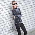[TWOTWINSTYLE] 2017 Spring Turtleneck T shirt Women Korean Vintage Velvet Long Sleeves Base Tops New Fashion Clothing