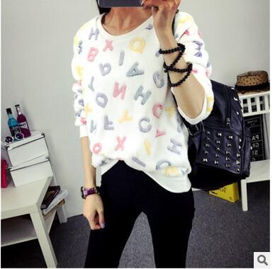 Autumn Winter Loose Womens Hoodies Top Face Smiling Expression Prints Harajuku Hoodies High Quality