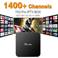 Best Sky Italian UK DE French TX3 PRO IPTV Box 1400 Plus Free European Sky Sport IPTV Channel IPTV TV Box Arabox Kodi Loaded