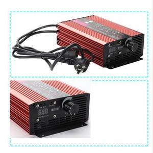 Image 5 - 72V 60V 67,2 V 71,4 V Li Ion LiPo 48V Lifepo4 Lithium Batterie Ladegerät Curren Einstellen 2A 5A 10A 12A Schnelle Ladung ebike 12S 20S 24S