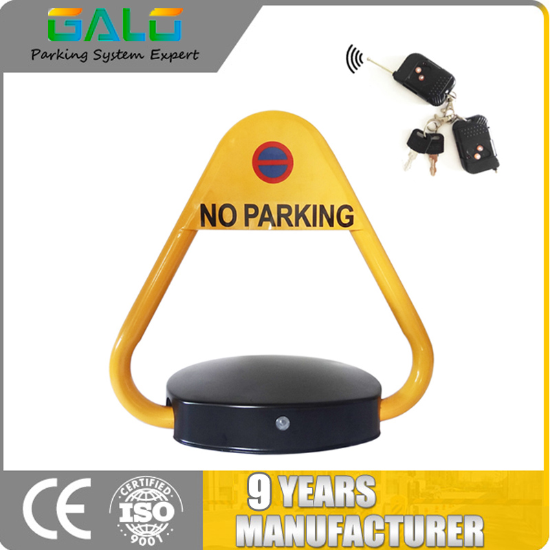 Anti-theft Waterproof Crashworthy Pressure-proof Automatic Remote Control Smart Car Parking Lock