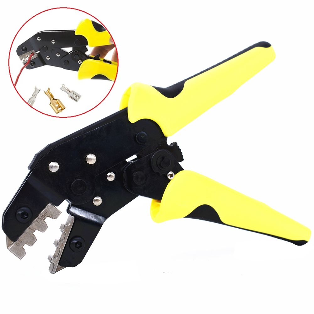 Terminal Crimping Tools Bootlace Ferrule Crimper Wire End Cord Pliers New